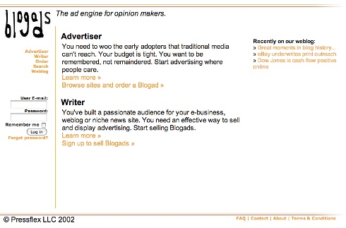 Blogads-first-site-new 2