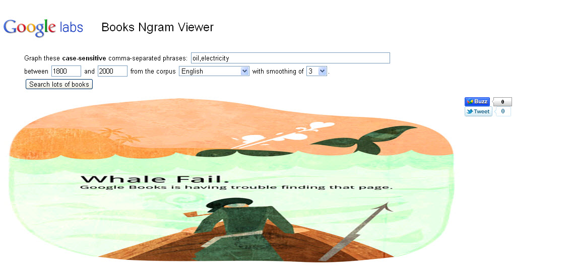 Google whale