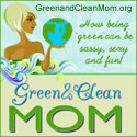 Green and Clean Mom Logo