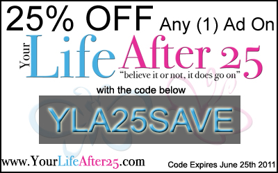 Your Life After 25 Discount updated